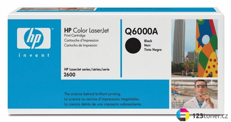 Originální toner HP Q6000A