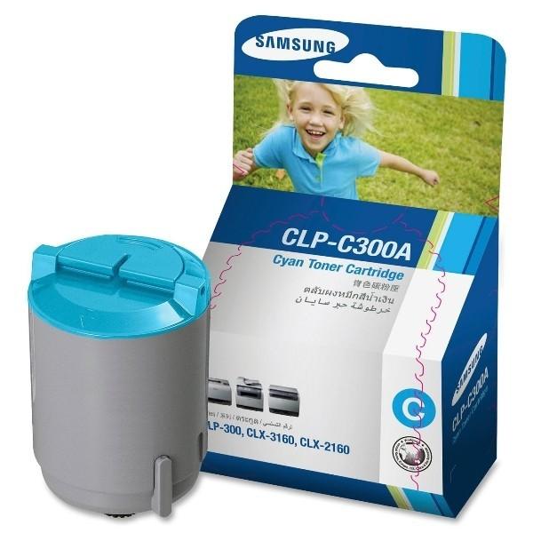 Originální toner Samsung CLP-C300A