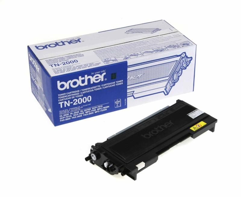 Originálny toner Brother TN 2000