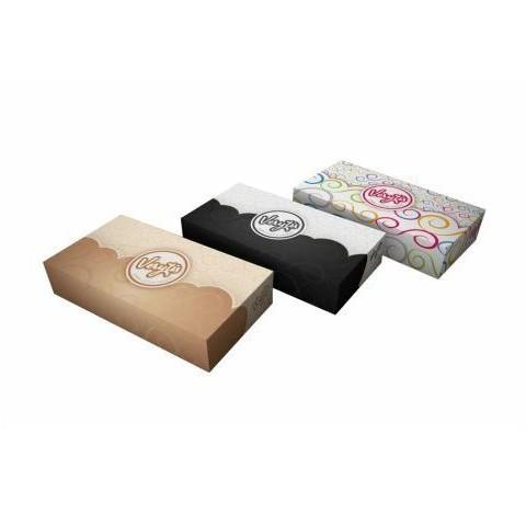 Papírové kapesníky - kosmetické ubrousky Veritys, 2-vrstvé, 100 ks v boxu