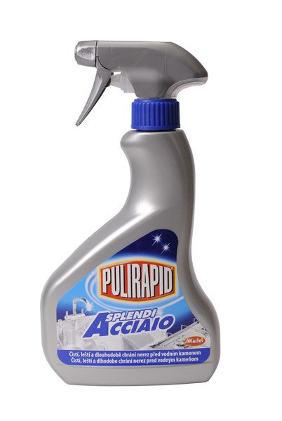 Pulirapid Splendi, ochrana nerezu, 500 ml