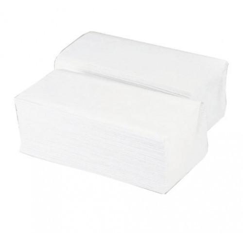 Ručníky bílé, sklad Z-Z, celulóza, 4000 ks
