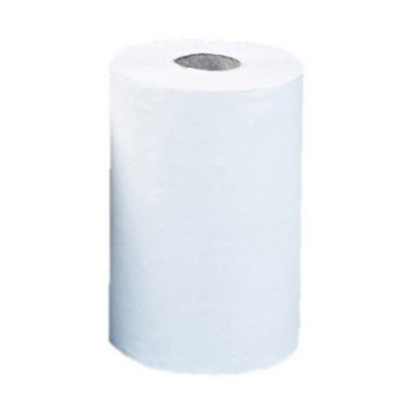Ručníky v roli, super bílé – dvouvrstvé, MINI – 13,5 x 21 cm, délka 75 m, 1 ks
