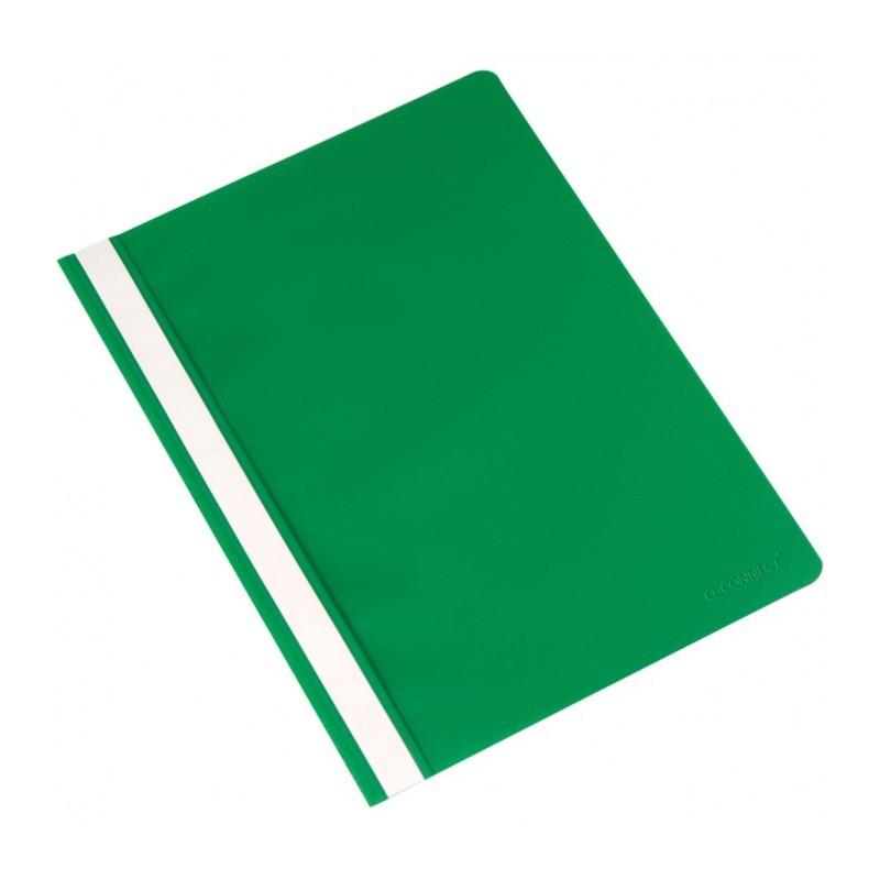 Rychlovazač A4, materiál polypropylen, zelený