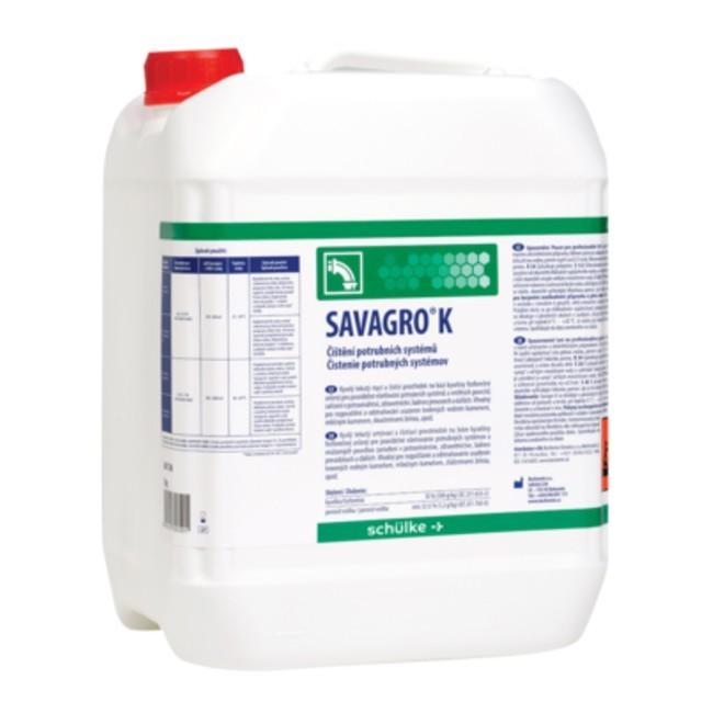 Savagro K, dezinfekcia potrubných systémov 5 l