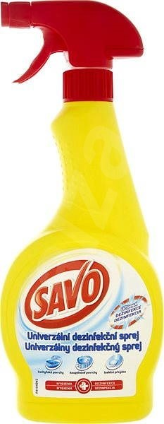SAVO univerzálna dezinfekcia 500 ml s rozprašovačom