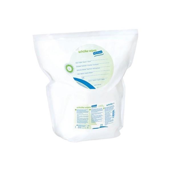 Schulke wipes safe & easy Bag in Box - sáček s ubrousky, 111 ks