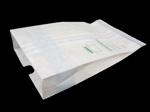 Steriking papierové vrecko s indikátorom parnej sterilizácie, 380 x 610 x 125 mm, 250 ks