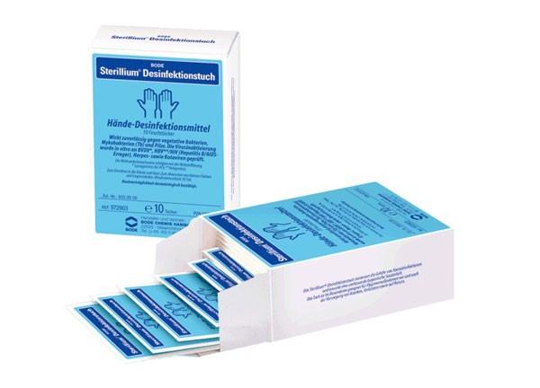 Sterillium, dezinfekčné utierky, 15 ks