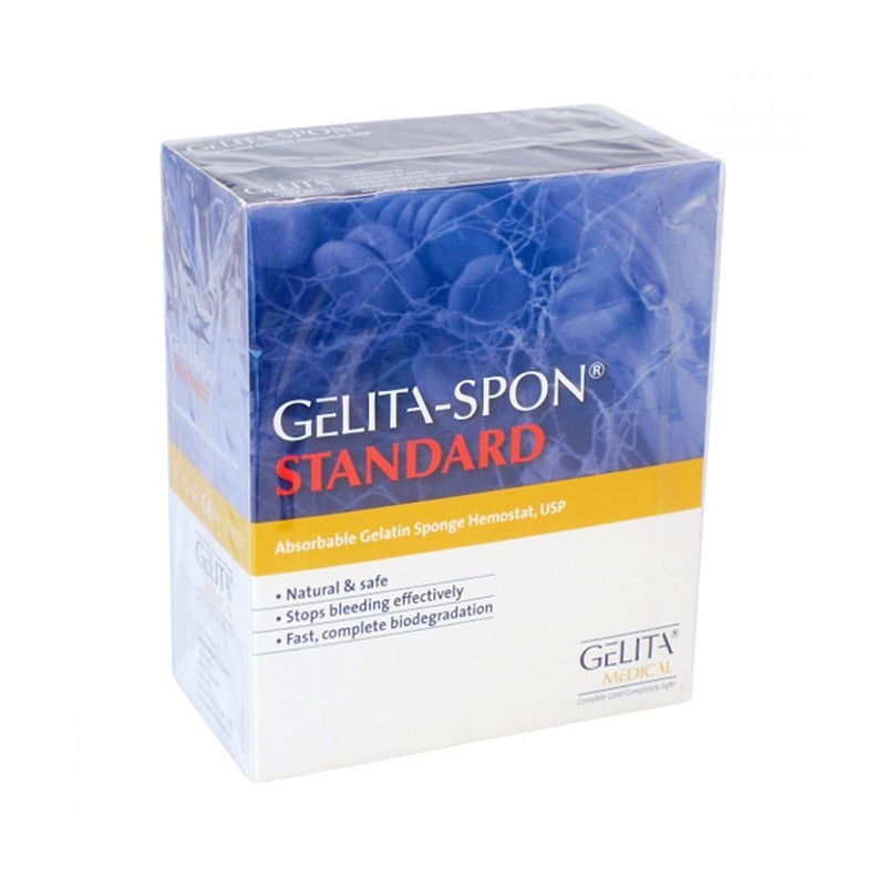 Tampon Gelitaspon Standard, 80 x 50 x 10 mm, 10 ks