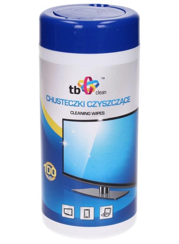 TB vlhčené utěrky na monitory, 100 ks v balení