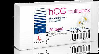Těhotenský test, hCG multipack, 20 ks v balení