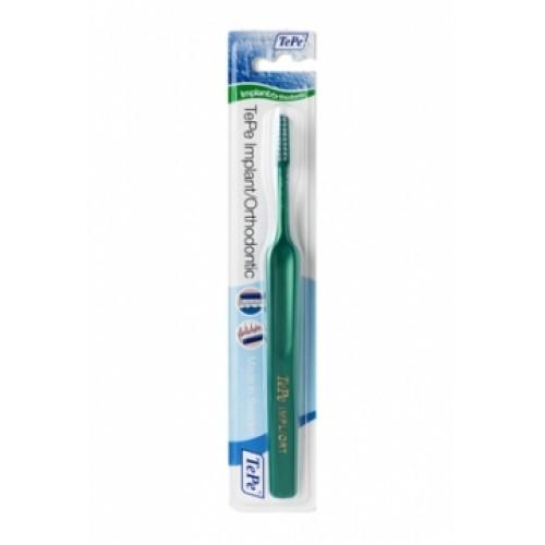 TePe Orthodontic Implant Soft zubná kefka na čistenie strojčekov a implantátov