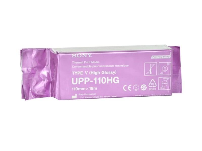 Termocitlivý papier Sony UPP-110 HG, 110 mm x 18 m, leský