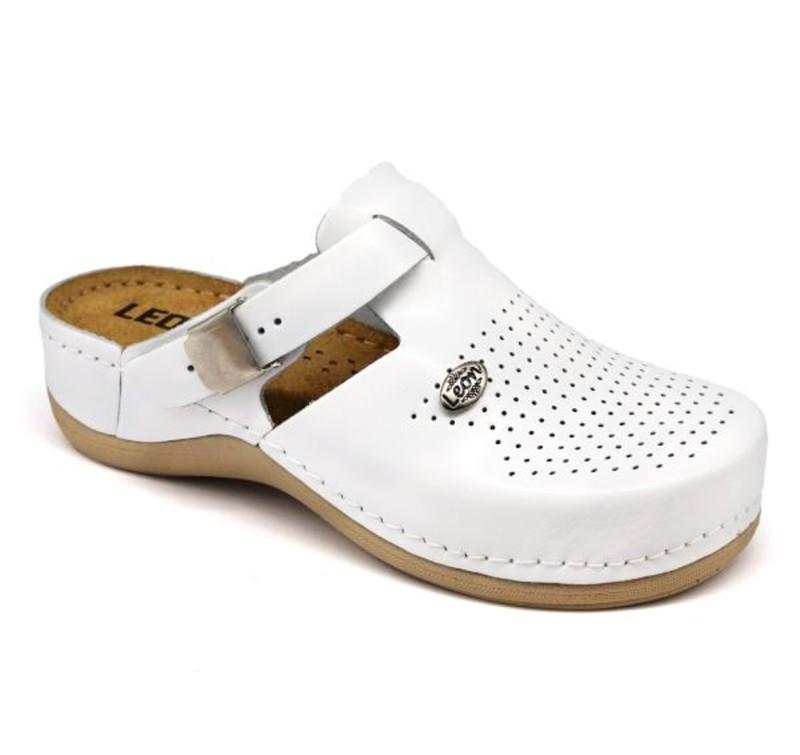 Topánky Luna farba biela, dámske