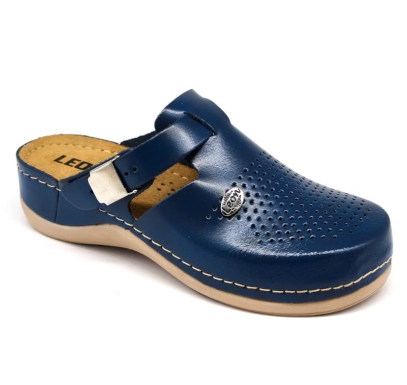 Topánky Luna farba modrá, dámske