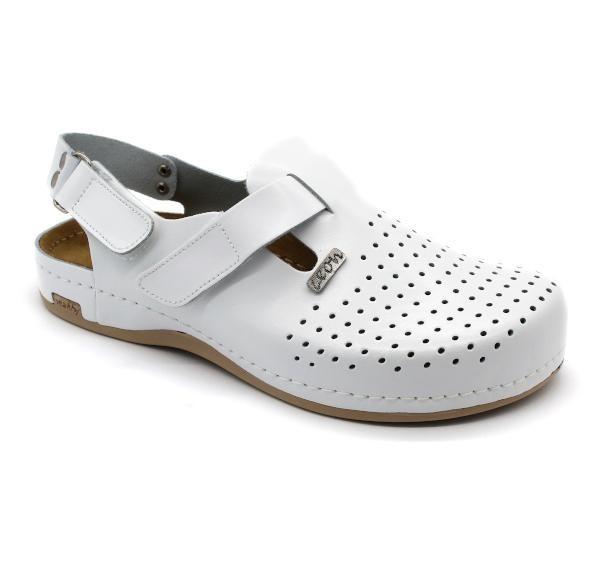 Topánky Lyra Man s pásikom farba biela, pánske