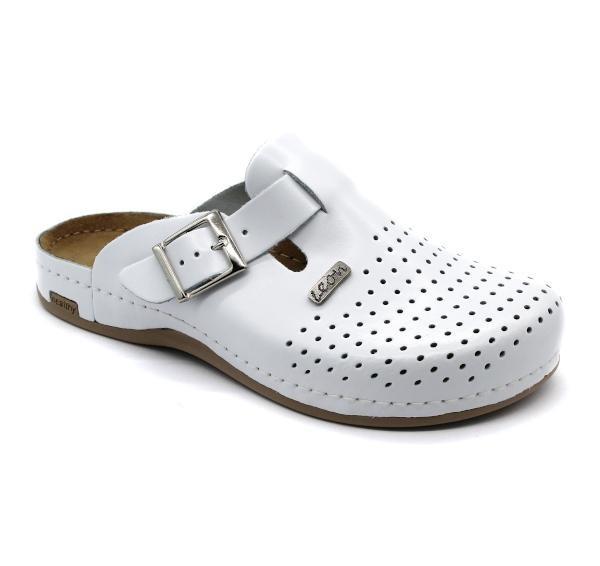 Topánky Melo bez pásiku, farba biela, pánske