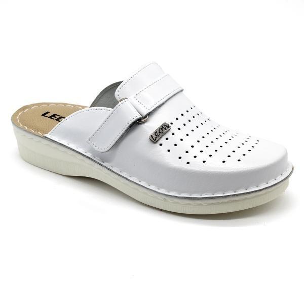 Topánky Rolo bez pásku, s pamäťovou penou, biele, pánske