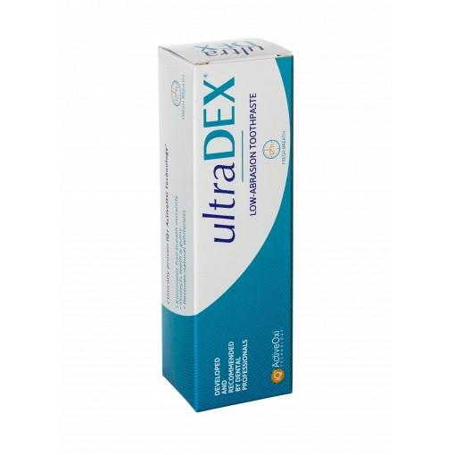 UltraDEX nízkoabrazívna zubná pasta s fluoridommi, 75 ml