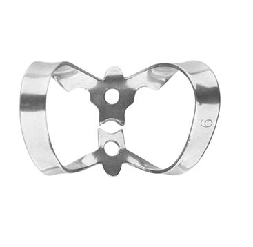 Univerzální spona na Kofferdam 9 2-oblouková pro frontální zuby, 1 ks