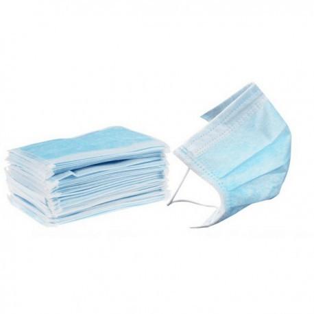 Ústenky s gumičkou, 50 ks, modré
