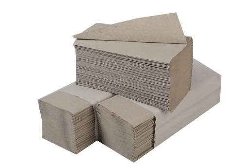 Utierky šedé, skladané Z-Z 1-vrstvové, 5000 ks