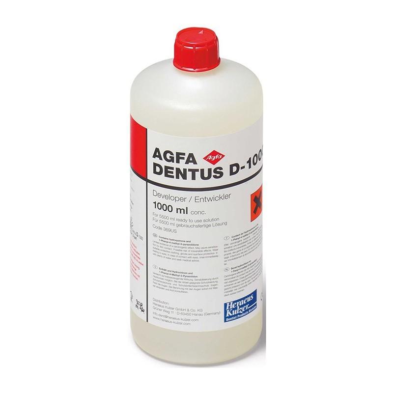 Vývojka Agfa Dentus D-1000 1 l