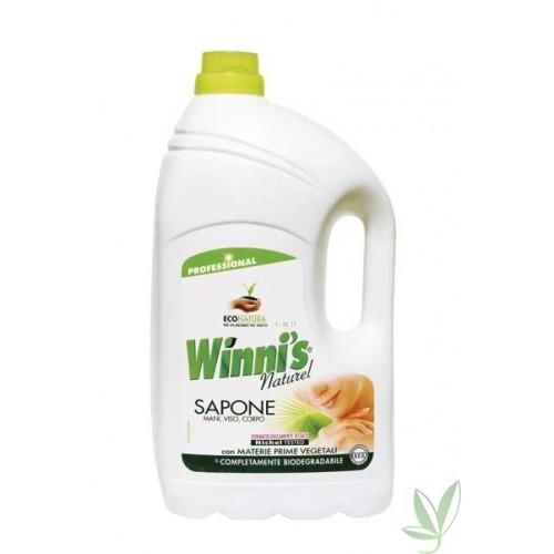 Winni´s sapone 5 l, hypoalergénne tekuté mydlo