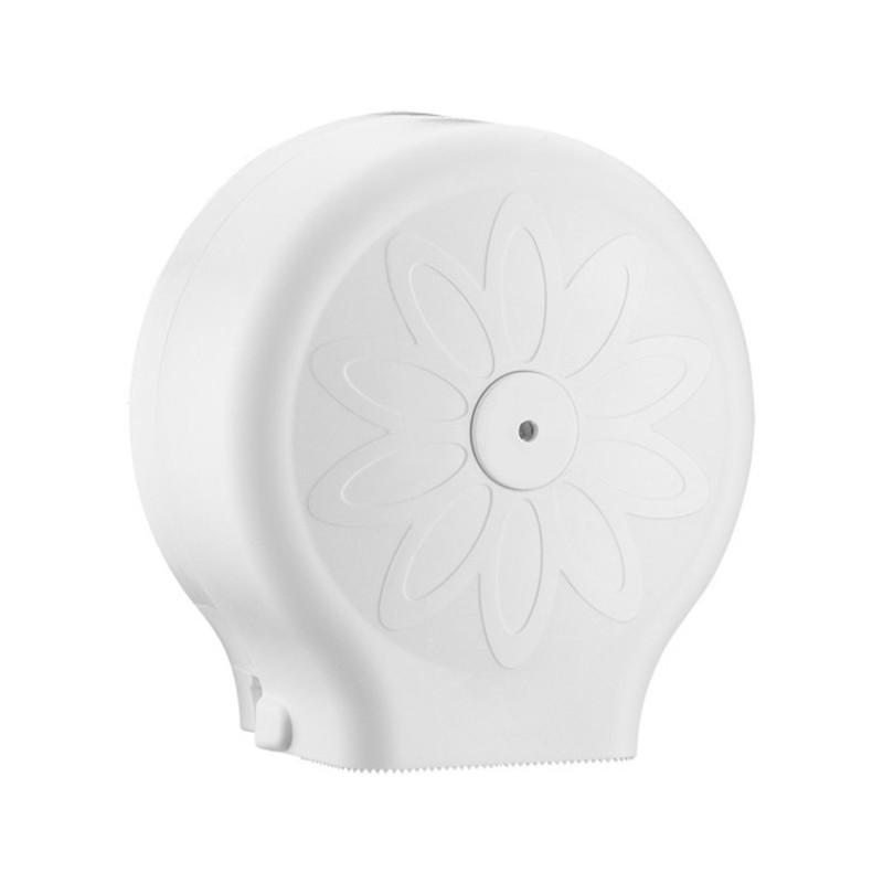 Zásobník na toaletný papier Jumbo Mini, biely