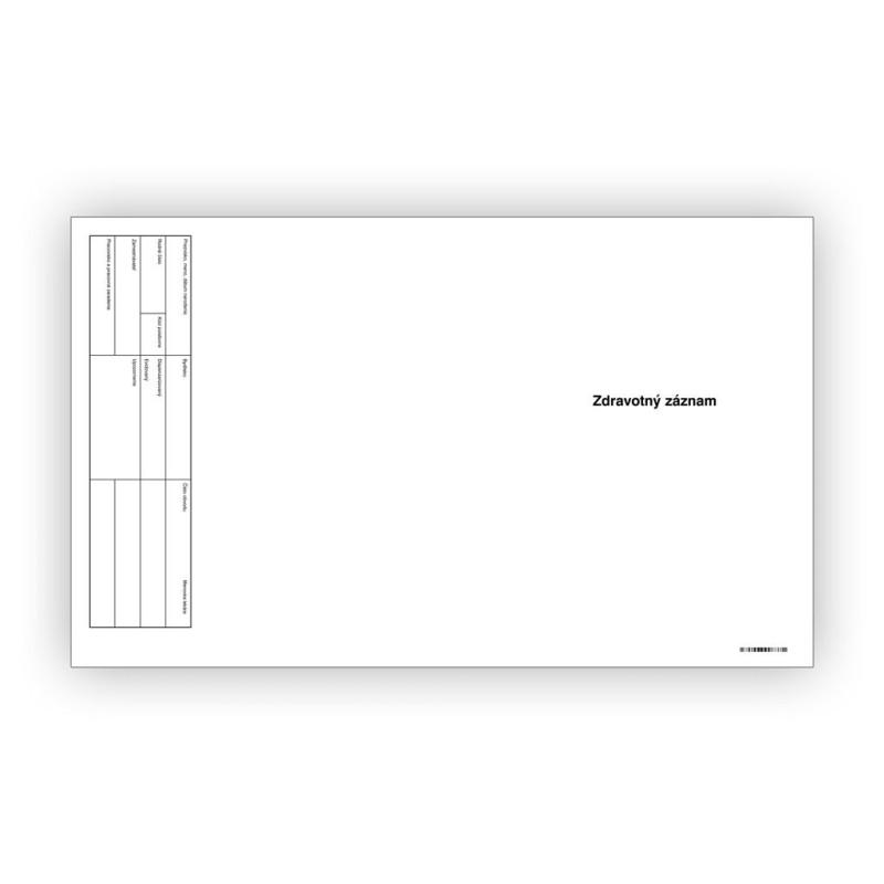 Zdravotný záznam, 1 ks