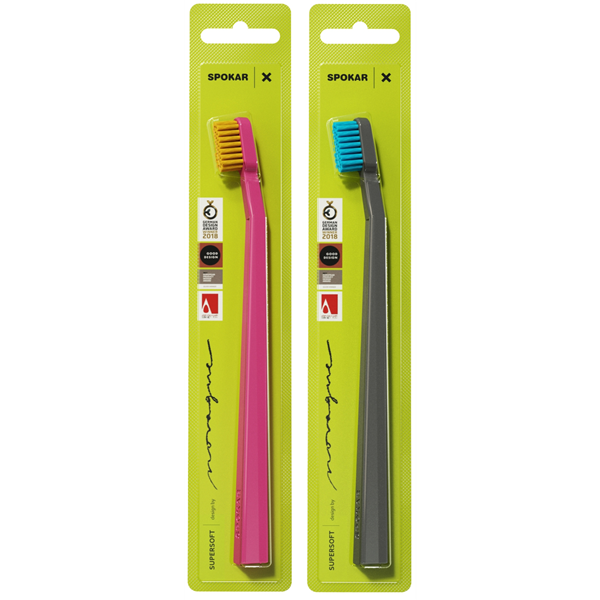 Zubní kartáček Spokar Novaque X, mix barev