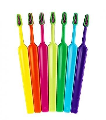 Zubní kartáček TePe Colour Compact X-Soft, v sáčku 3 + 1 zdarma