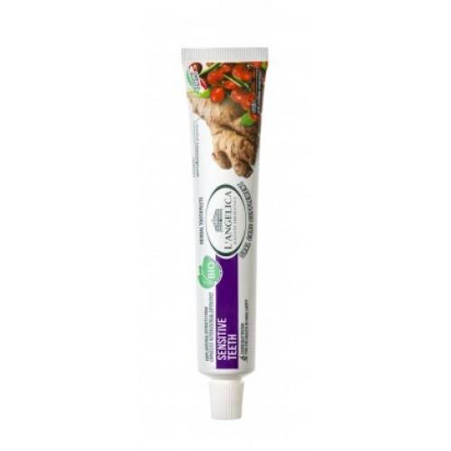 Zubní pasta L'Angelica Sensitive Teeth BIO, 75 ml