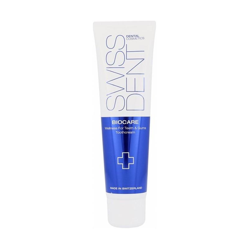 Zubní pasta Swissdent Biocare - modro/zelená, 100 ml