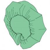 Baret čiapka standard, zelená, 100 ks