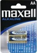 Baterie tužková alkalická Maxell LR6 2BP (R6) AA 2ks