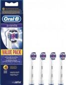 Braun Oral-B 3D White EB 18-4 náhradní kartáčky, 4 ks