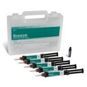 Breeze Self-Adhesive Resin Cement Intro Kit 5 x 4 ml; 1 x 3 ml Silan