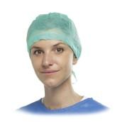 Čepice pro sestry bez potisku, zelený, 1 ks