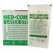 Chirurgické rukavice Med Comfort latex, sterilní, pudrované, pár