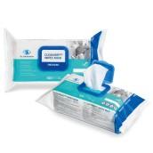 Cleanisept Wipes Maxi dezinfekční ubrousky bez alkoholu, flowpack 100 ks