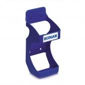 Držák nástěnný na láhev 500 ml, modrý Wall Bracket, Ecolab