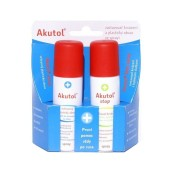 Duopack Akutol spray + Akutol stop spray 2 x 60 ml