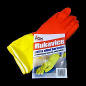 Extra silné barevné rukavice Fox Cleaning