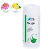 FD 350 dezinfekční ubrousky, dóza, 110 ks