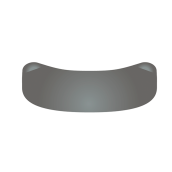 Garrison-Slick Bands XR - matrice pro premoláry, šedá, 4,6 mm / 0,038 mm,  50 ks