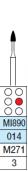 HEICO - FG MI mikropreparácia - medium vrtáčik pre turbínky