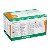 Inzulinová stříkačka Omnican s jehlou 50-50 I.U./0,5 ml 30G 0,30 x 12 mm, inzulin 0,5 ml, 100 ks