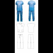 Jednorazová operačná tunika + nohavice Jamel